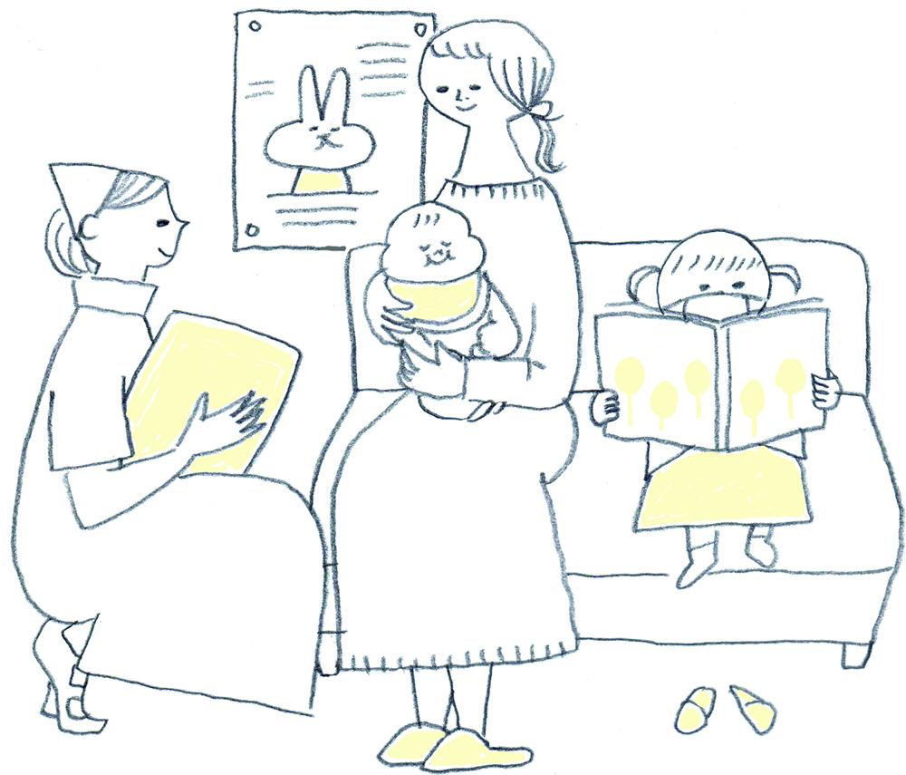 小さなお子さまがいる家庭に選ばれる理由